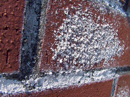 LIPEA - výkvěty na lícovém zdivu/ vodou rozpustný výkvět síranu
