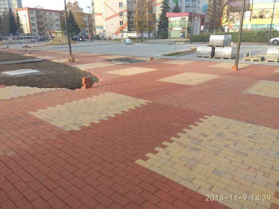 LIPEA - Humanizace Orlová - cihelná dlažba Görlitz, Radeberg, Plauen/ terasy/ chodníky/náměstí/parkoviště/ www.lipea.cz