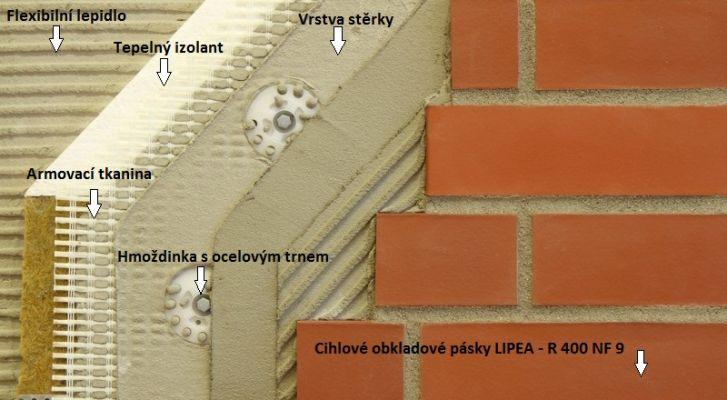 Zateplovací systém - ukázka LIPEA