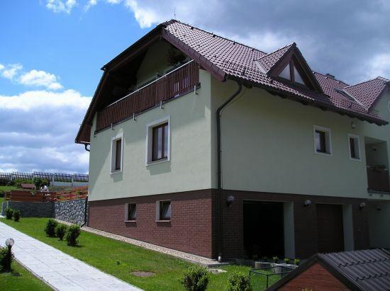 LIPEA - ukázka RD/ obkladový pásek Feldhaus Klinker R 535 terra mana /www.lipea.cz