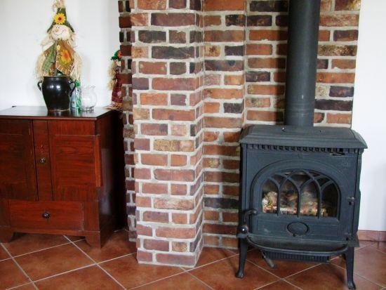 LIPEA - ukázka krbu/reference krbů/lícová cihla FB 1242 Castello/www.lipea.cz