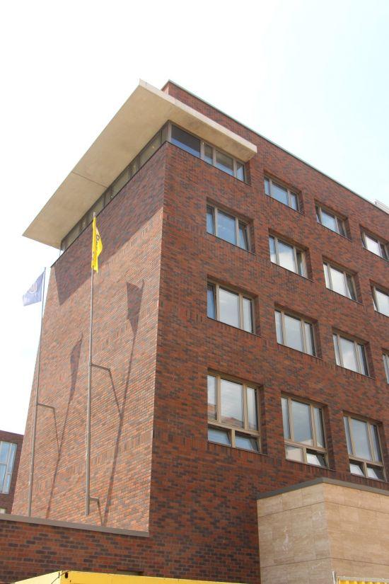 LIPEA - Filozofická fakulta Carla - objekt D, lícová cihla K 685 sintra ardor nelino/ fasáda z lícových cihel/ odvětrávaná fasáda/www.lipea.cz