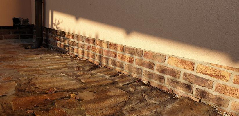 LIPEA - lícová rustikální cihla FB 1240 030 Ruvio/ fasáda z cihlového obkladu/ cihlový obklad/ www.lipea.cz