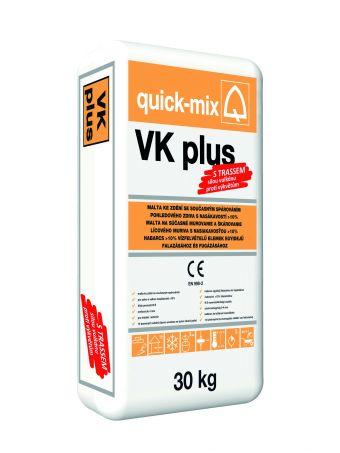VK plus - zdící a současně spárovací hmota pro cihly s nasákavostí > 10%
