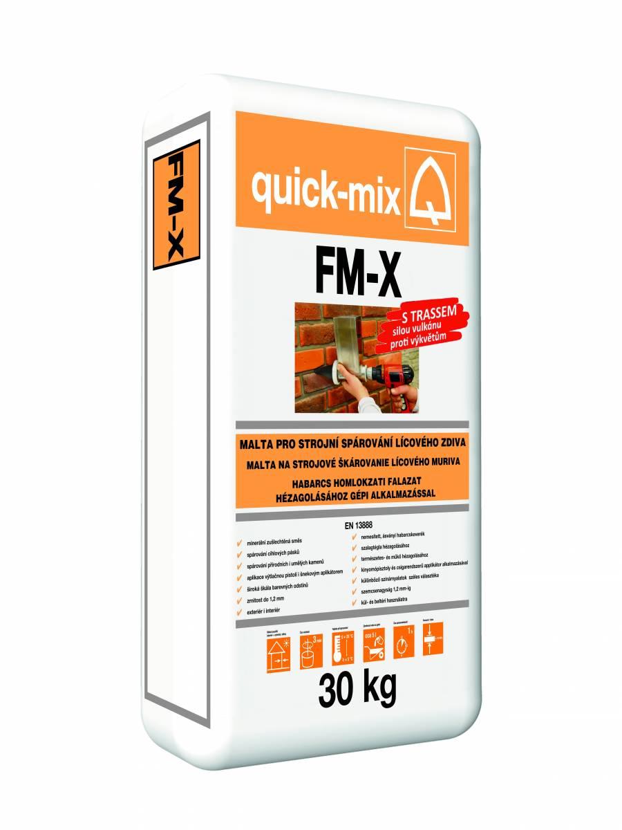 LIPEA/ FM-X - malta pro strojní spárování cihelných pásků
