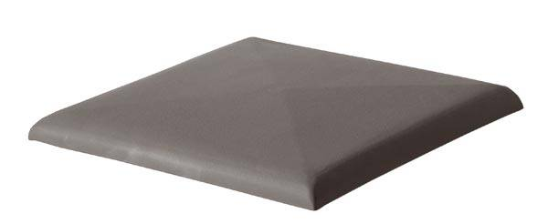 Keramické stříšky/ zákrytové desky - odstín starošedý
