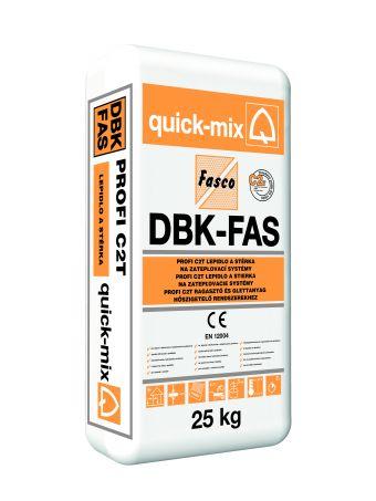 DBK-FAS - víceúčelové lepidlo  a stěrka na zatepl.systémy tř. C2 T