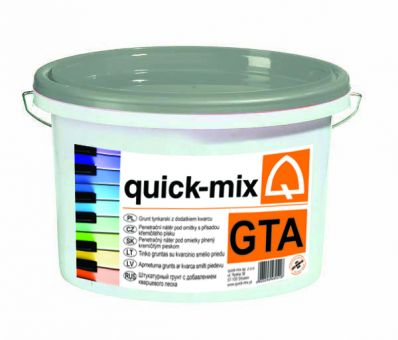 GTA - penetrační nátěr pod pastovité omítky