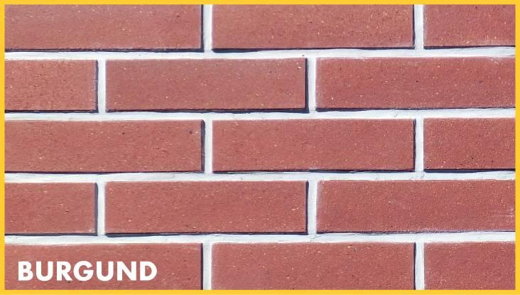 LIPEA - obkladový pásek BURGUND/ kameninový pásek/ fasádní pásek/ fasáda z pásků/ kamenina/www.lipea.cz