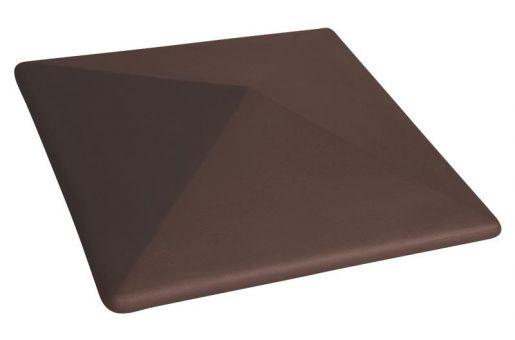 Cihelná stříška  - odstín hnědý