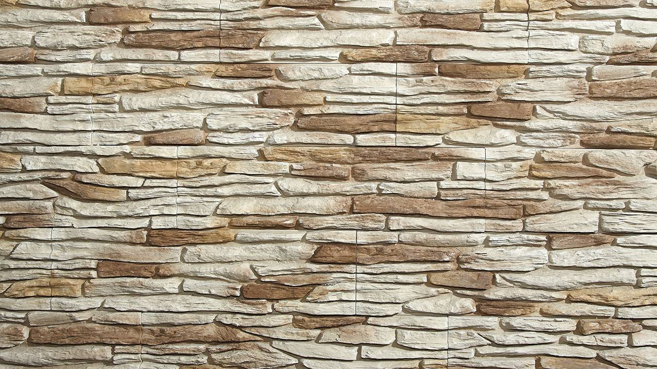 LIPEA - California 1 - DESERT, betonový obklad imitující kámen/ kamenný obklad z lehčeného betonu www.lipea.cz