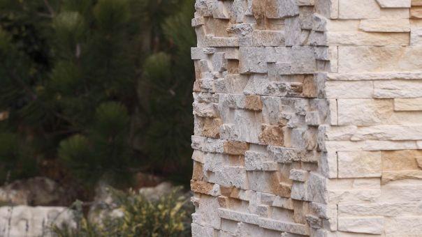 Nepal 2 - DESERT, betonový obklad imitující kámen/ kamenný obklad z lehčeného betonu www.lipea.cz