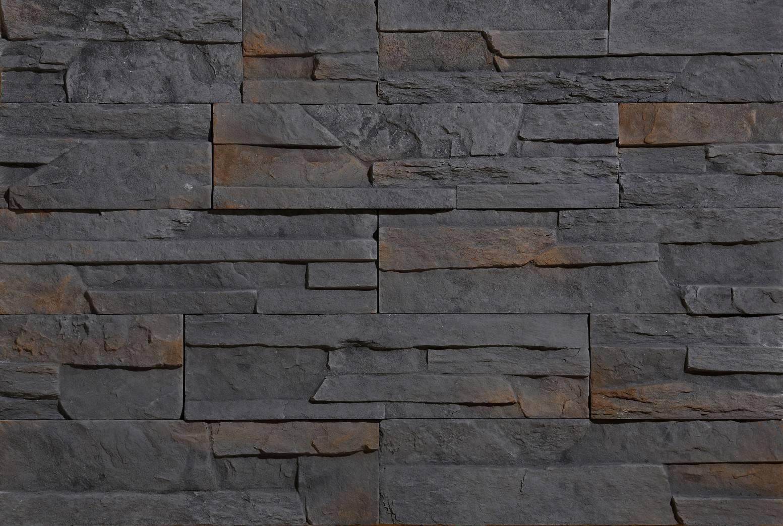 LIPEA - Nepal 3 - GREY, betonový obklad imitující kámen/ kamenný obklad z lehčeného betonu www.lipea.cz