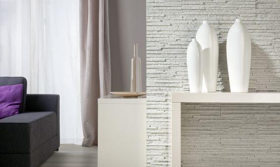 LIPEA - Palermo 1 - WHITE, betonový obklad imitující kámen/ kamenný obklad z lehčeného betonu www.lipea.cz