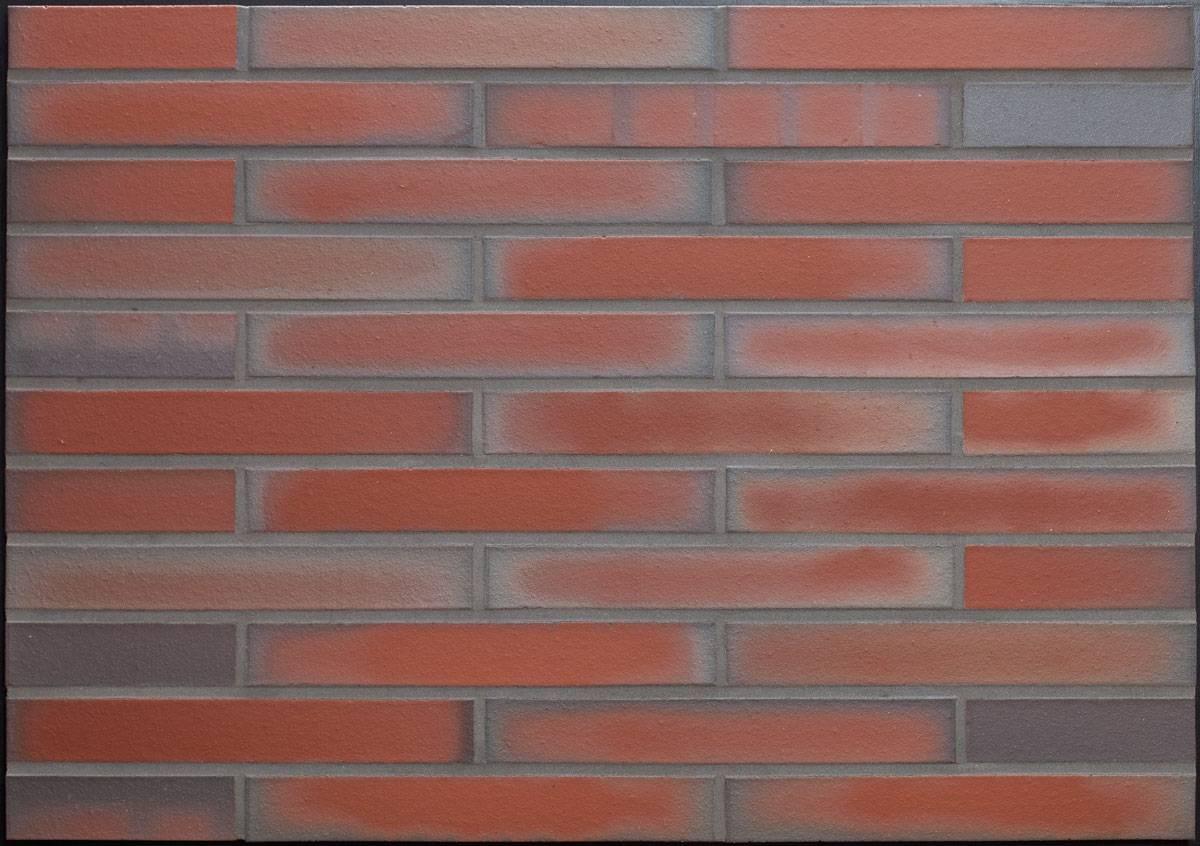 LIPEA - obkladový cihelný pásek R 303 XLDF ardor liso/ fasáda z obkladových pásků/ cihlové pásky/ cihličky na fasádu/ www.lipea.cz